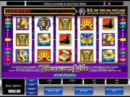 Juego Treasure Nile