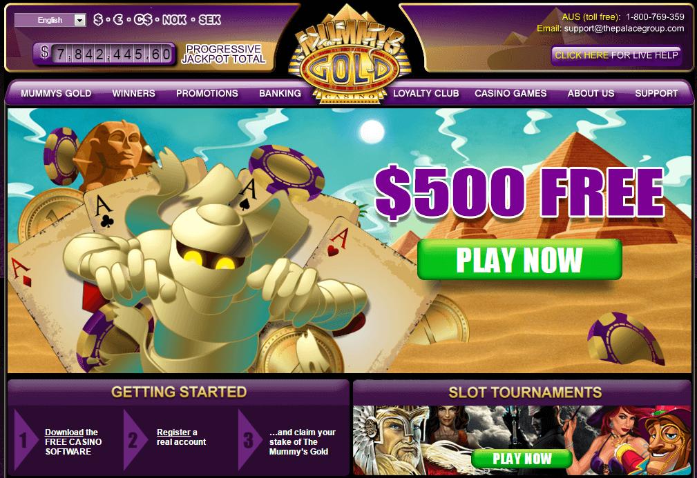 Casino Mummys Gold