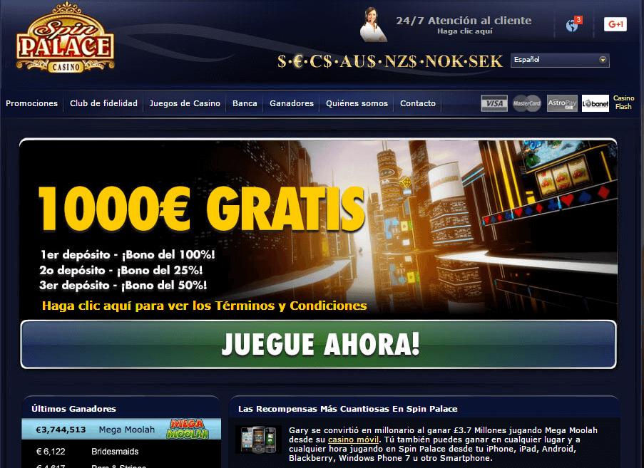 spin palace juegos de casino online